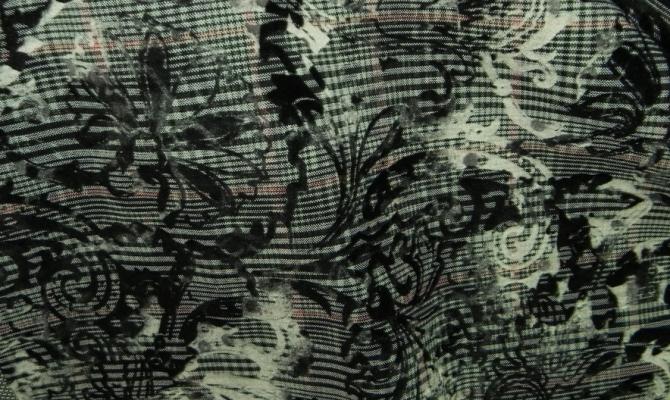 Ткань костюмная с флоком