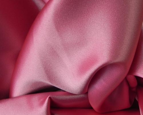 Атлас стрейч (розовый)