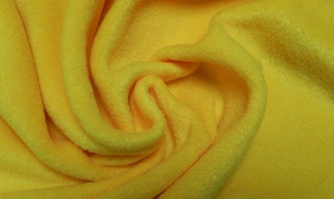 Флис желтый