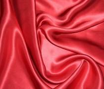 Атлас стрейч (красный)